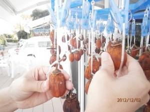 10日目の柿