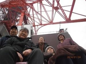 東京タワーに行っちゃいました✌